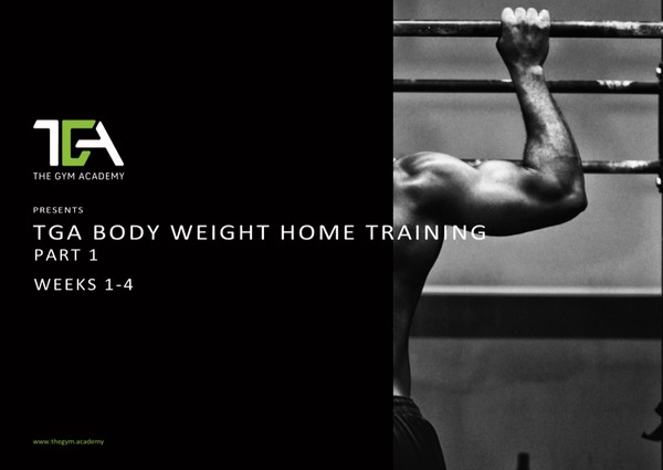 Bodyweight Home Training