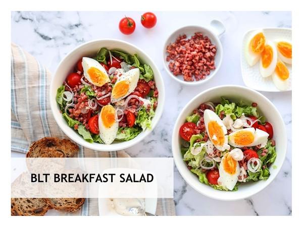 BLT Breakfast Salad