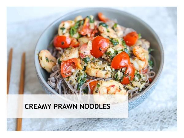 Creamy Prawn Noodles