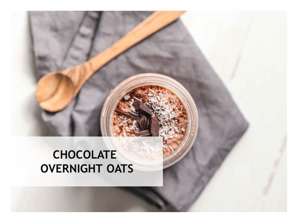 Free Chocololate Overnight Oats Recipe
