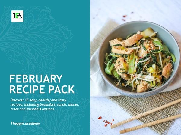 February 2021 Recipe Pack