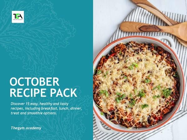 October 2020 Recipe Pack