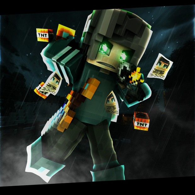 MineCraft Logo Desing