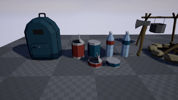 Low Poly Survival Pack | UE4