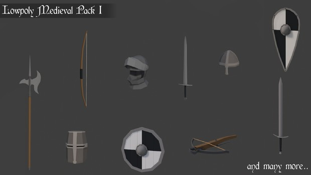 Low poly Medieval