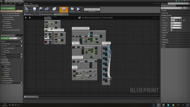 Blueprint Building System