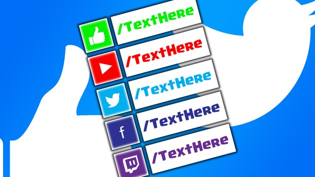 5 Pack Lower Third Pack For YouTube - Photoshop