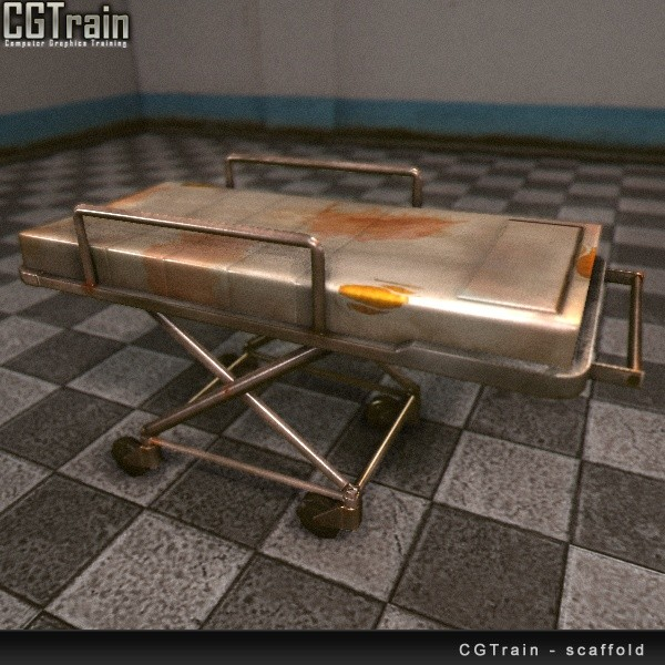 Hospital Bed (based on Wasteland2 concepts)