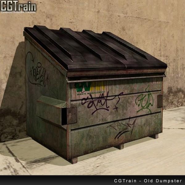 Old Dumpster