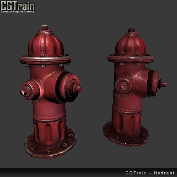 Hydrant - 3D asset for games
