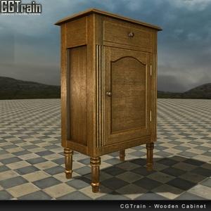 Floor Wooden Cabinet