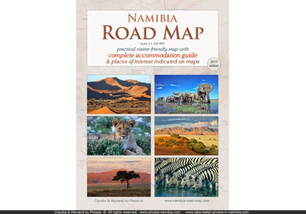 Namibia Road Map