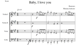 Baby I love You - Ramones - String Quartet