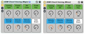 EDM Chord Voicing Racks