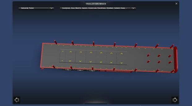 Coil Transport Trailer model ETS2