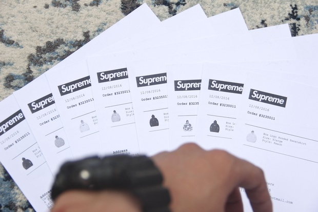 Original Supreme Receipt