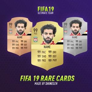 FIFA 19 - RARE CARDS TEMPLATE
