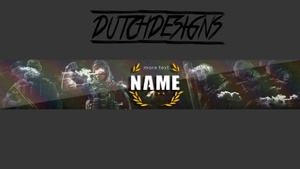 Rainbow six banner Template by DutchDesigns
