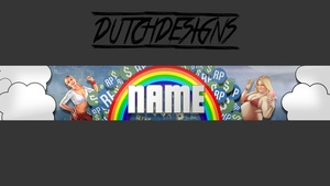gta5 youtube banner template by DutchDesigns