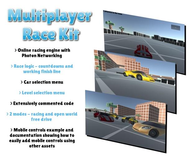 Multiplayer Race Kit for Unity