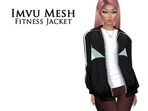 IMVU Mesh -  Tops -  Fitness Jacket