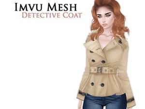 IMVU Mesh - Tops - Detective