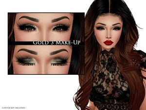 IMVU Texture - Skins by Lee - Make-up Gold 3