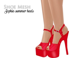 IMVU Mesh - Shoes - Sophie Summer Heels