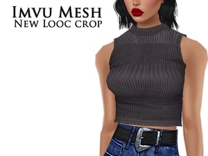 IMVU Mesh - Tops - New Looc Crop