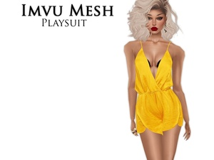 IMVU Mesh - Tops - Playsuit (Outfit)