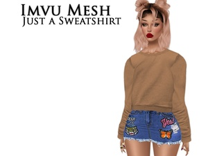 IMVU Mesh - Tops - Just a Sweatshirt