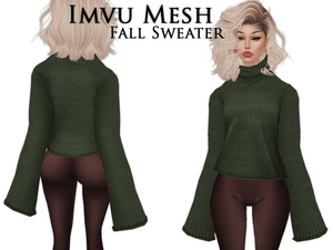 IMVU Mesh - Tops - Fall Sweater