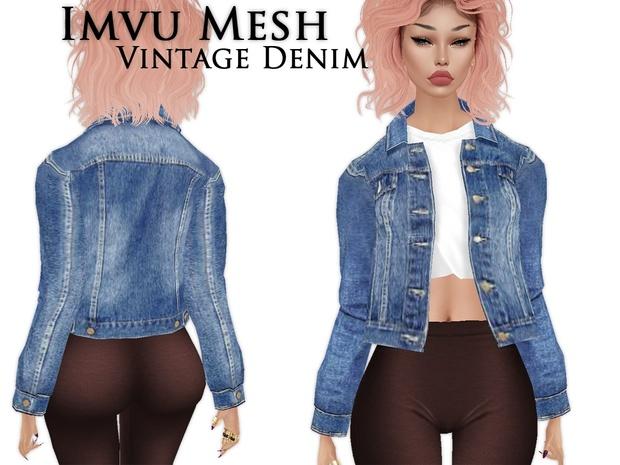 IMVU Mesh - Tops - Vintage Denim