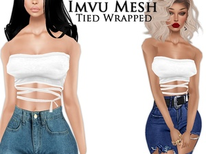 IMVU Mesh - Tops - Tied Wrapped
