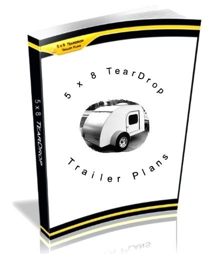 5 x 8 Teardrop Trailer Plans