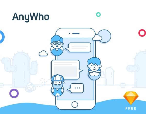 AnyWho - Social App UI Kit