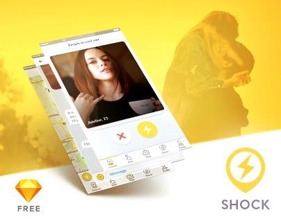 Shock - Dating App UI Kit