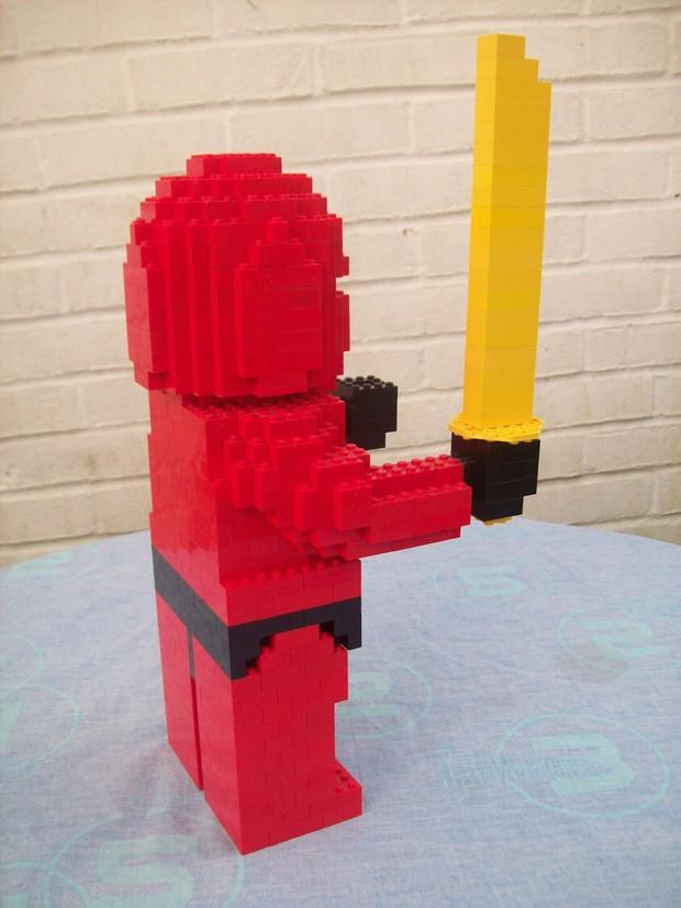 Instructions for Large Lego Ninja Figure