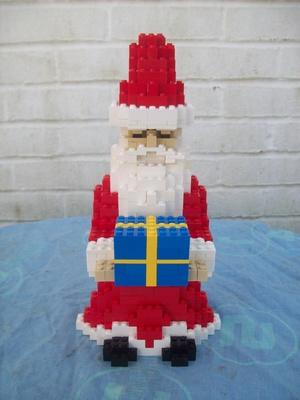 Instructions for Large Lego Santa Claus figure