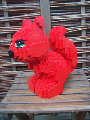 Instructions for Large Lego Squirrel