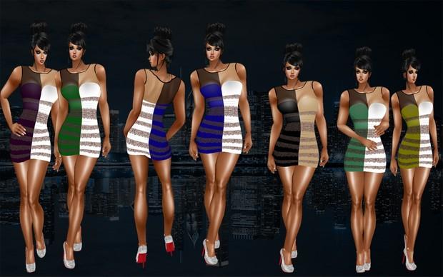 Dream Girl -Opacity + 6 Color textures