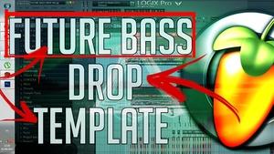 FUTURE BASS DROP FL STUDIO TEMPLATE!