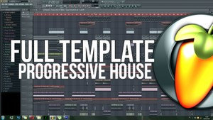 FULL PROGRESSIVE HOUSE TEMPLATE!