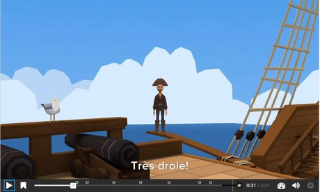 One to one interactif chez les pirates