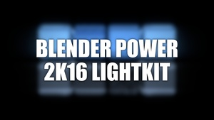 Blender Power 2k16 lightkit