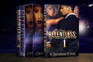 Relentless; A Vampire King's Desire-4 BOOKS-BOX SET_By, Christine Gray