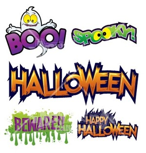Halloween Text Package