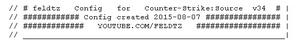 Counter-Strike:Source v34 config updated 2015-08-07