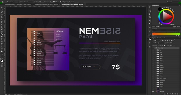 Nemesis Pack 1GB (Exclusive)
