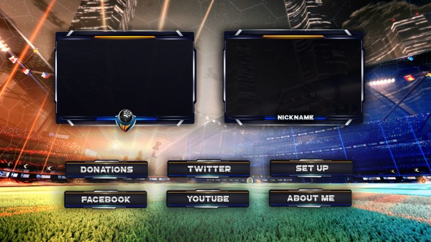 ROCKET LEAGUE TWITCH PACKAGE